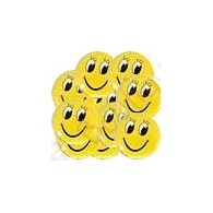 "Crachá ""Smiley"" X 10"