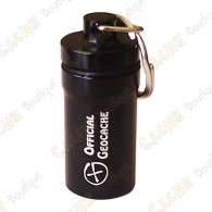 "Micro cache ""Official Geocache"" 5,2 cm - Black"