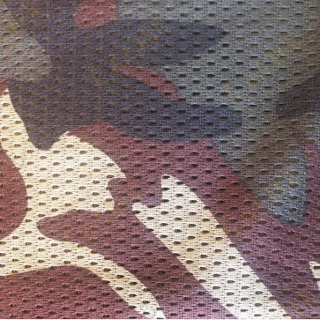 Camouflage microperforado