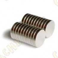Ímanes neodimios 12mm - Conjunto de 10