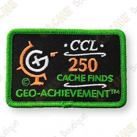 Geo Achievement® 250 Finds - Patch