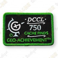 Geo Achievement® 750 Finds - Patch