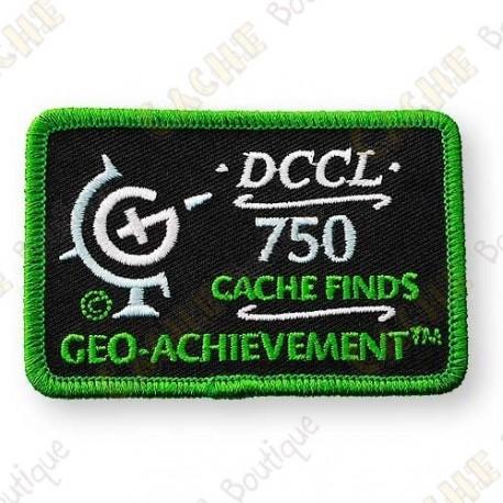 Geo Achievement® 750 Finds - Patch
