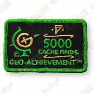Geo Achievement® 5000 Finds - Patch