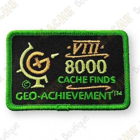 Geo Achievement® 8000 Finds - Patch