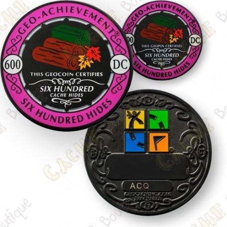 Geo Achievement® 600 Hides - Coin + Pin