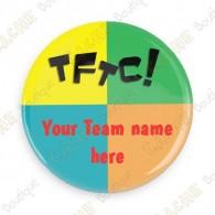 Crachá Team Name x 100 - Personalizado