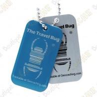 Travel bug QR - Azul