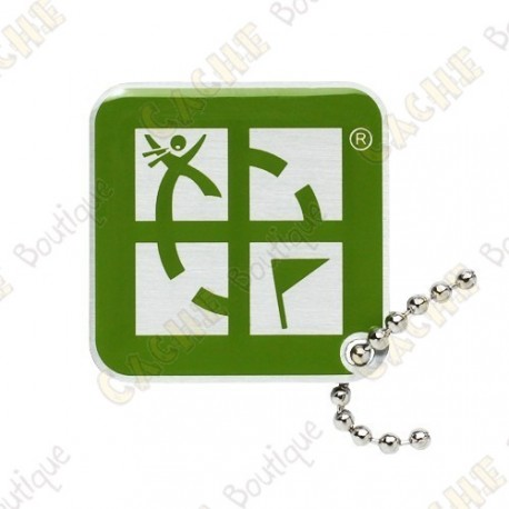 Traveler Logo Geocaching - Verde