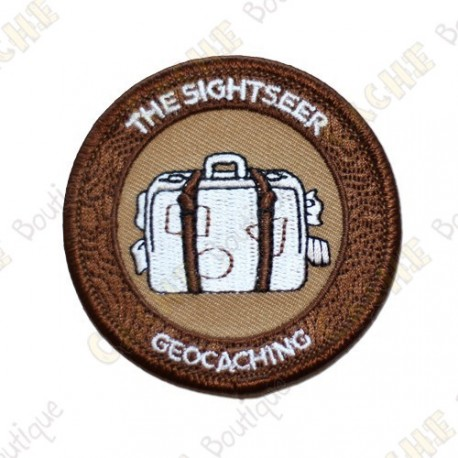"""Patch """"7 souvenirs of August"""" - The sightseer"""