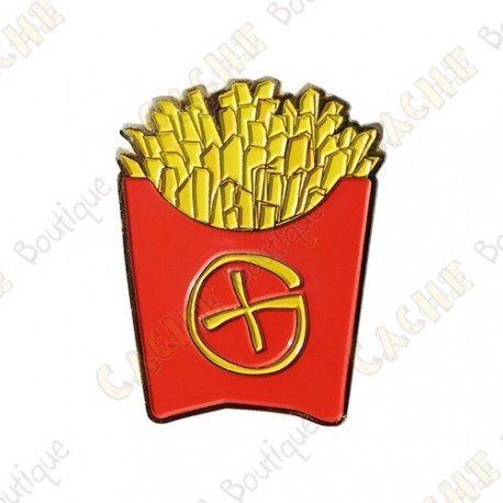 """Géocoin """"Fast Food"""" -  Fench fries"""
