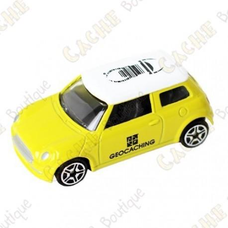 Mini Cooper trackable - Amarelo