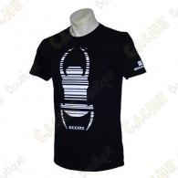 "Trackable ""Travel Bug"" T-shirt - Black"
