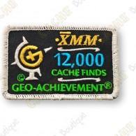 Geo Achievement® 12 000 Finds - Patch