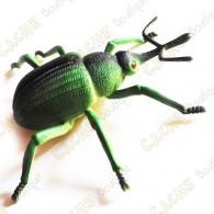 "Cache ""Inseto magnética"" - Grande besouro verde"
