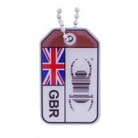 """Travel Bug """"Origins"""" - Reino Unido"""