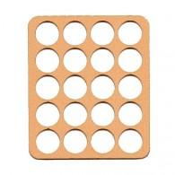 Bandeja para Wood coins - 20 caixas