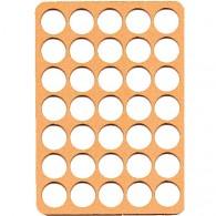 Bandeja para Wood coins - 35 caixas
