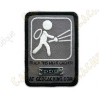 "Trackable Patch  ""Night Cache"""