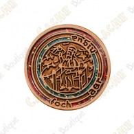 "Micro Coin ""Mapamundi"" - Copper"