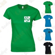 """T-shirt trackable """"Discover me"""" Mulheres"""