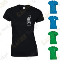 T-shirt trackable com seu Apelido, Mulheres