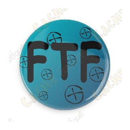 Badge FTF - Bleu