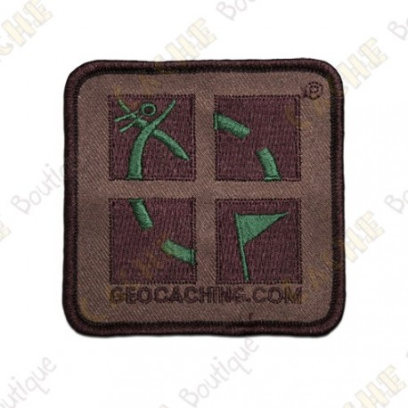 Patch Geocaching Groundspeak camouflage