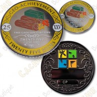 Geo Achievement® 25 Hides - Coin + Pin