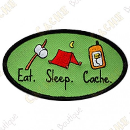 Patch geocaching - Eat - Sleep - Cache