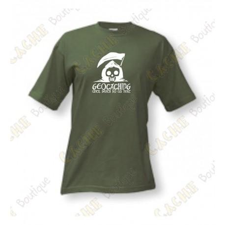 """T-Shirt """"Until Death Do Us Part"""" for men - Khaki"""