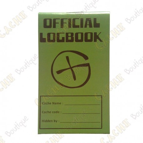 "Pequeno logbook ""Official Logbook"""