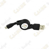 Retractable USB - Micro USB