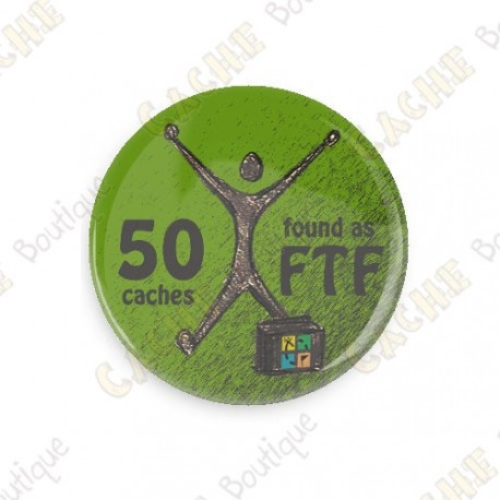 Geo Achievement Badge - 50 FTF