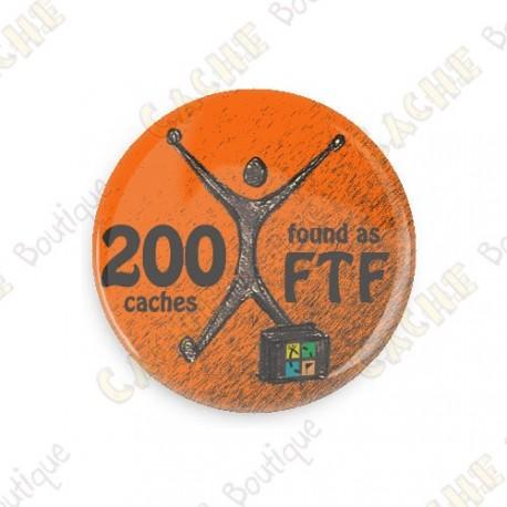 Geo Achievement Button - 100 FTF