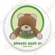 Brugse Beer III Button - Non trackable