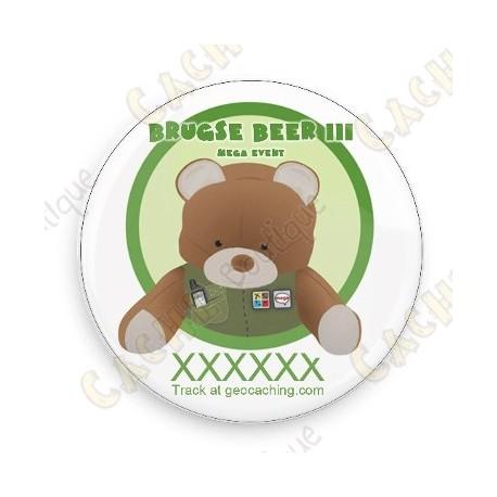 Badge Brugse Beer III - Trackable