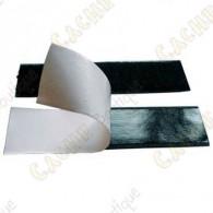 Velcro adesivo 10 cm - Negro