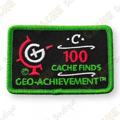 Geo Achievement® 100 Finds - Parche