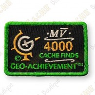 Geo Achievement® 4000 Finds - Patch