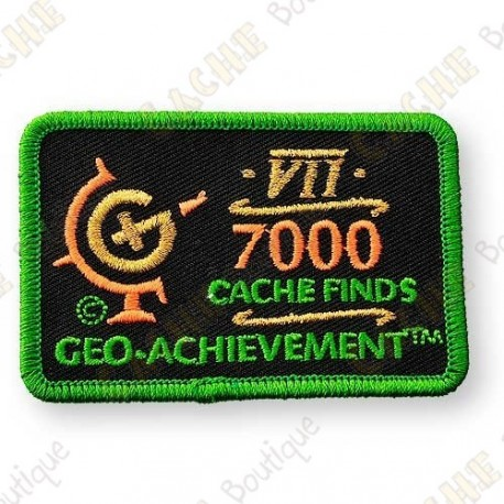 Geo Achievement® 7000 Finds - Parche