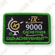 Geo Achievement® 9000 Finds - Parche