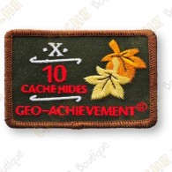 Geo Achievement® 10 Hides - Patch