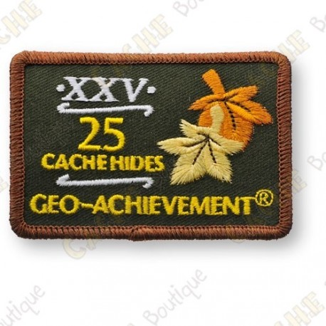 Geo Achievement® 25 Hides - Patch