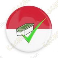 Geo Score Button - Monaco