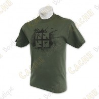 "T-Shirt ""Cache Attack"" green"