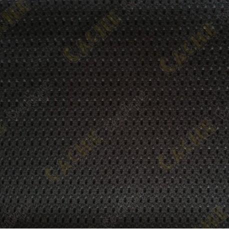 Tissu micro-perforé - Noir