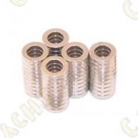 Magnets neodymes 10x6x2mm - Lot de 10