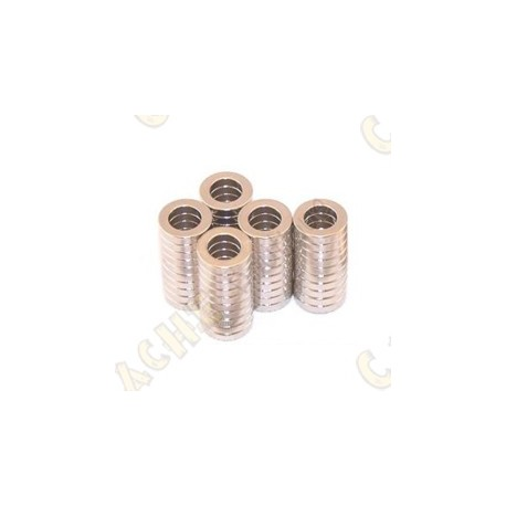 Neodynium magnets 10x6x2mm - Pack of 5
