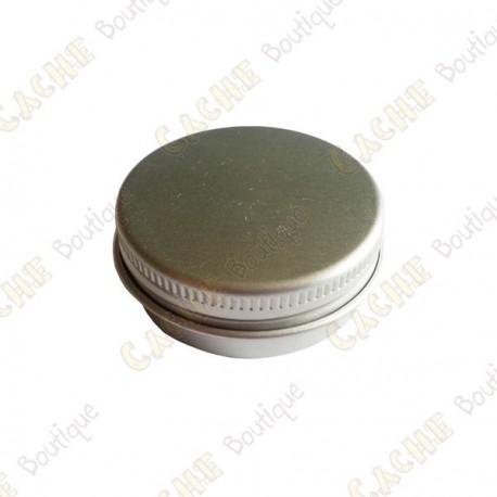 """Cache """"Tin"""" magnética - Círculo 4 cm plana"""